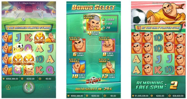 Sholin Soccer feature-free-spins